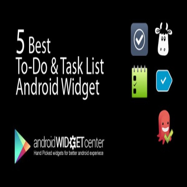 5 Best ToDo and Task List Android Widgets | AndroidWidgetCenter | task list widget