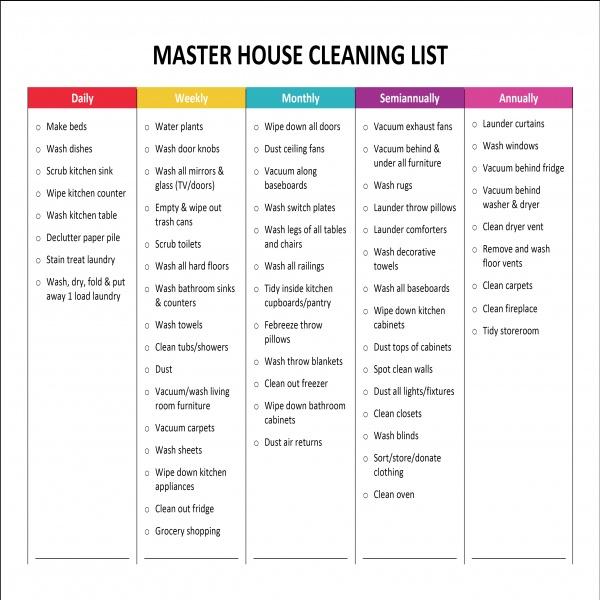 Complete Housekeeping Printable Set! | Price list, House and Cleaning | housekeeping task list | housekeeping task list