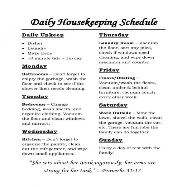 Best 25+ Housekeeping schedule ideas on Pinterest | House cleaning .. | housekeeping task list