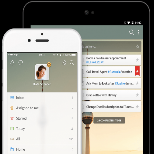 Wunderlist | To-do list, Reminders, Errands - App of the Year! | task list app | task list app
