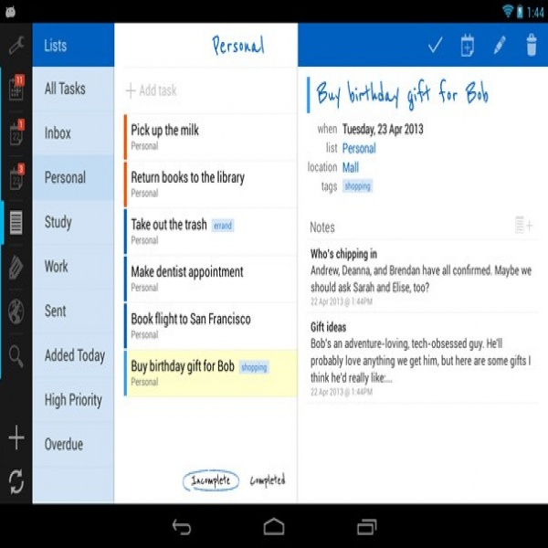 Top 3 Best To-Do List Apps For Android - Geektor | task list app | task list app