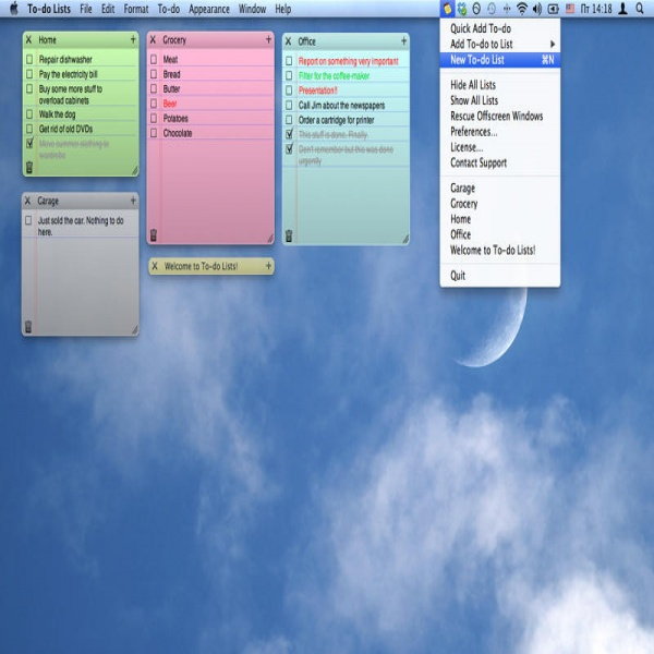 To-do Lists By Mykola Olshevskyi | task list mac | task list mac