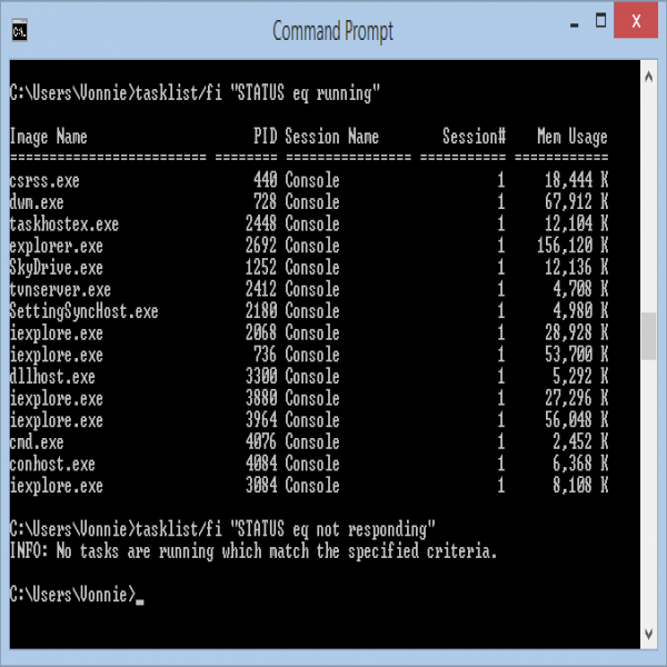 10 Windows commands you need to know - fixedByVonnie | task list cmd | task list cmd