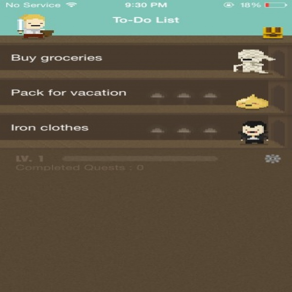 Turn Your To-Do List Into A Game And Level Up When You Get Things .. | to do list game