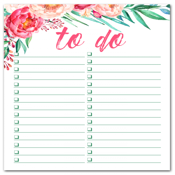 i should be mopping the floor: Free Printable Watercolor To Do List | to do list | to do list