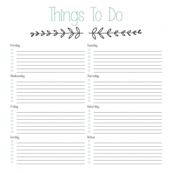 25+ best Todo list ideas on Pinterest | Printable weekly calendar .. | to do list