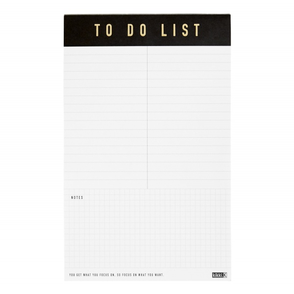 A5 TO DO LIST PAD: LIFE ESSENTIALS | to do list pad | to do list pad