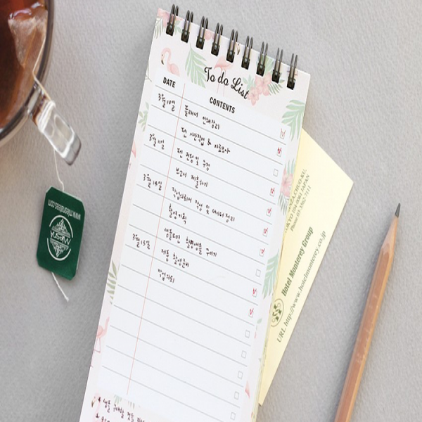 Desk To-Do List Notebook — The Strive | to do list notebooks | to do list notebooks