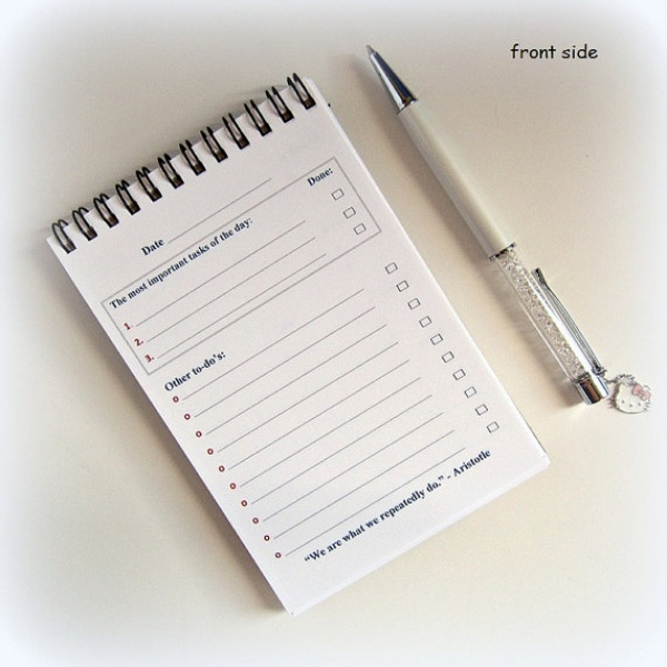 To Do List Notebook | to do list template | to do list notebooks | to do list notebooks