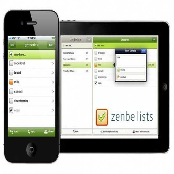 Zenbe List - Simple To-do list for iPhone/ipad - Dreamcss | to do list application | to do list application