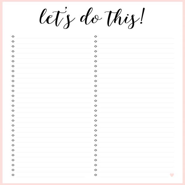 FREE PRINTABLE IRMA TO DO LISTS - eliza ellis | to do list printable | to do list printable