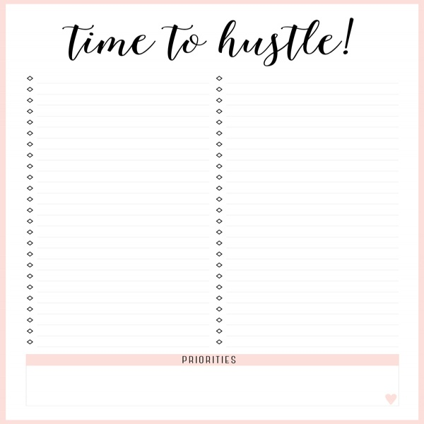 FREE PRINTABLE IRMA TO DO LISTS - eliza ellis | to do list printable | to do list printable