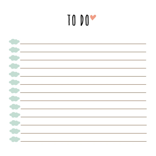 Free Printable To Do List | Free Printables | Pinterest | Free .. | to do list printable