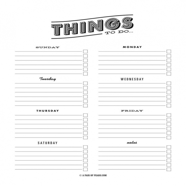PRINT-To-Do-List-Template | to do list template pdf | to do list template pdf