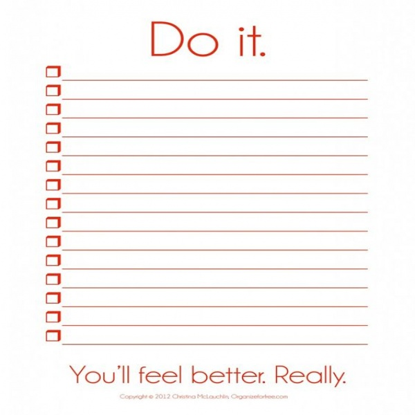 to do list template pdf