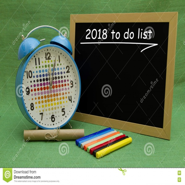 2018 New Year To Do List | to do list 2018