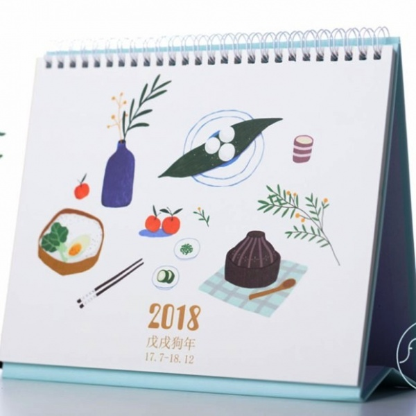 "Aliexpress.com : Buy ""Happy Daily"" 2018 Desk Calendar Cute Table .. 