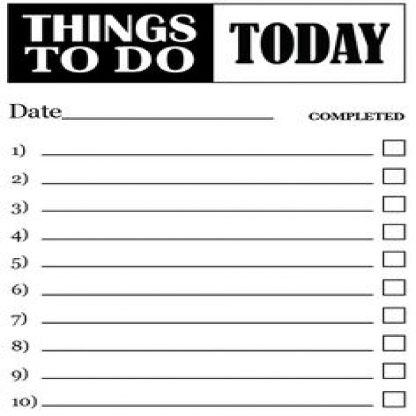 To Do List Template Free | free to do list | to do list template | to do list template