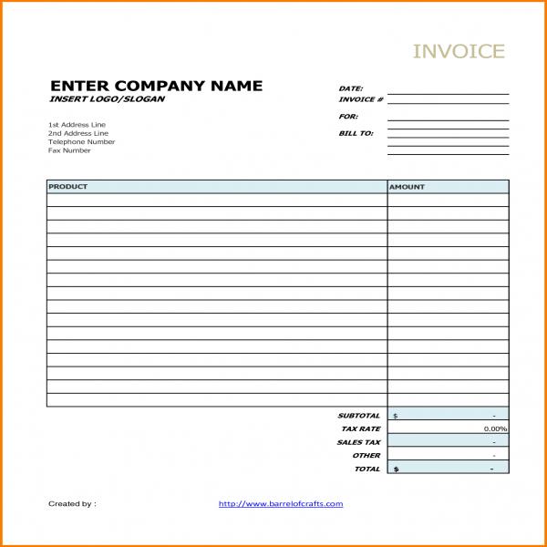 7+ Generic Invoice Template | Receipt Templates | Generic Invoice | Generic Invoice