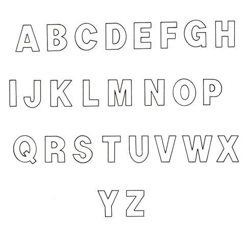 Alphabet Letter Templates | peerpex