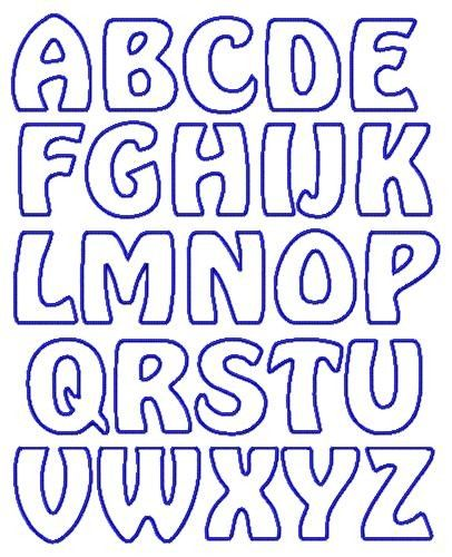 Printable Alphabet Templates