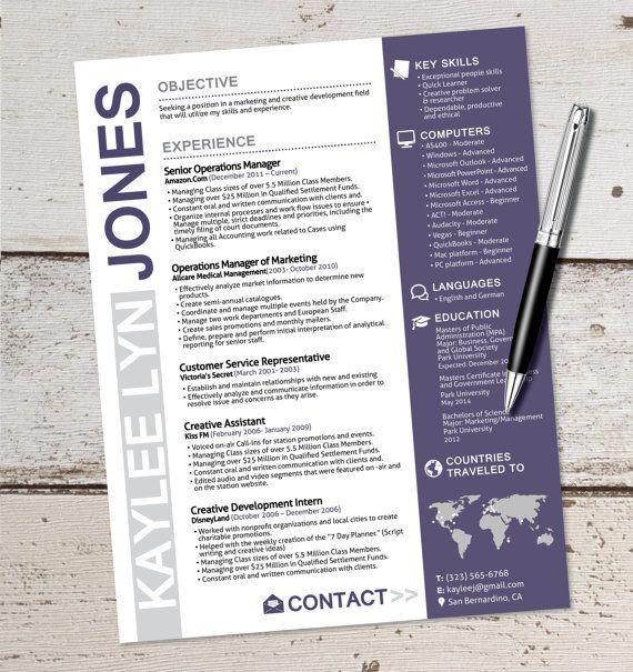 Best 25+ Marketing resume ideas on Pinterest | Resume, Resume