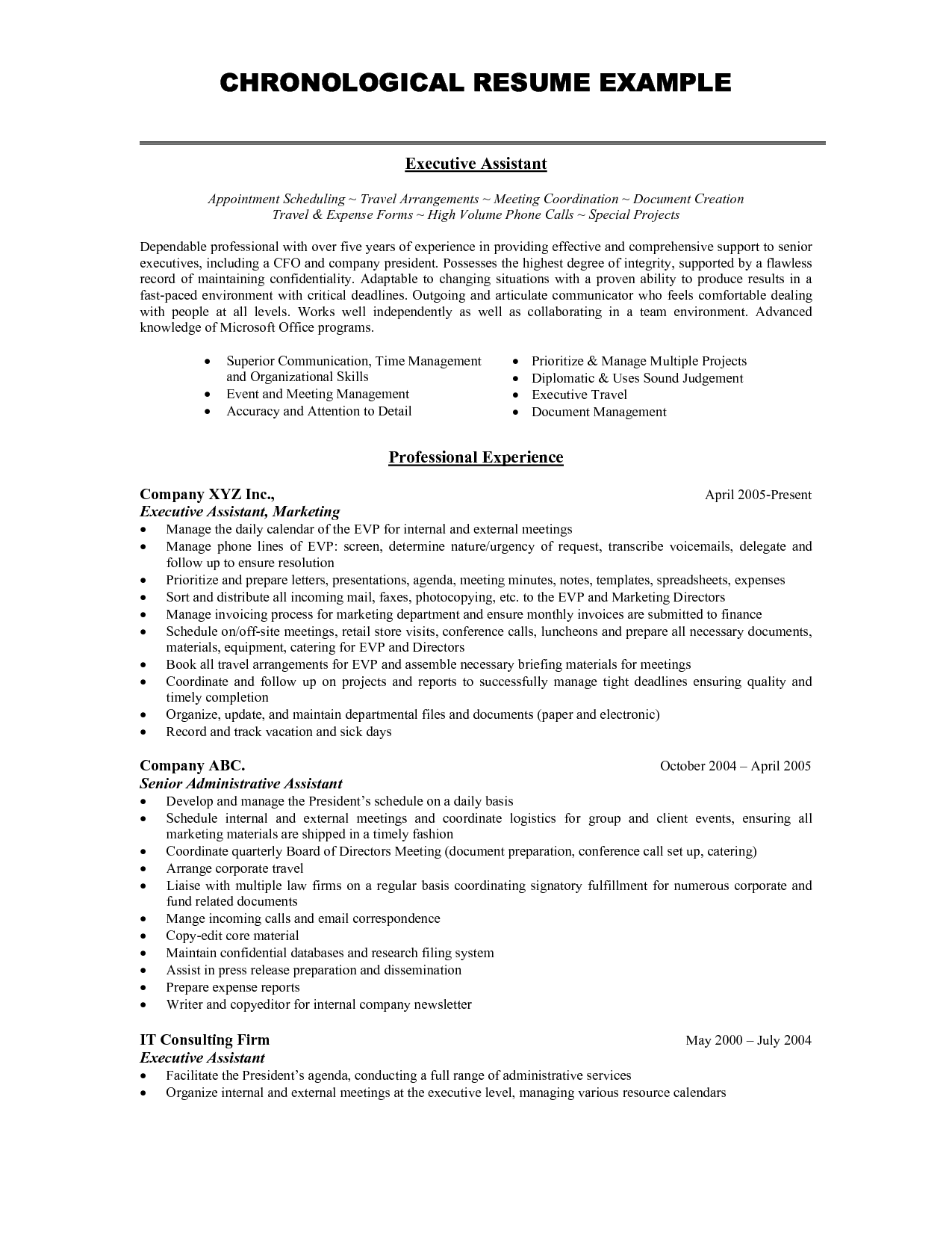 Best Resume Format For Marketing Vatozozdevelopment