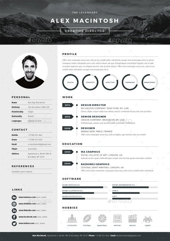 excellent resume templates best 25 best resume template ideas on
