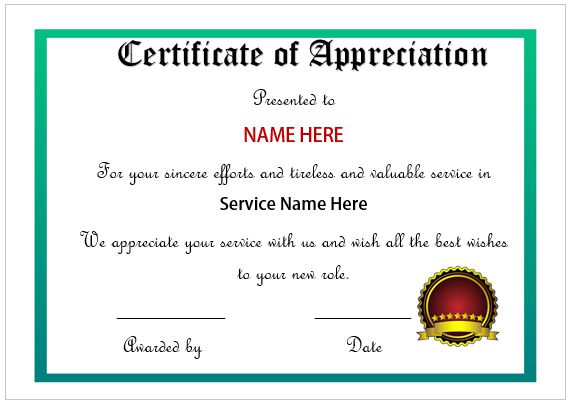 Employee Recognition Awards Template 9+ Free Word, PDF