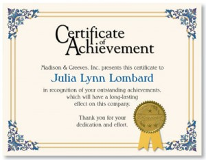 Employee Certificate of Appreciation | Certificates | Pinterest