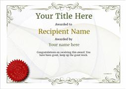 Certificate Template Free | task list templates