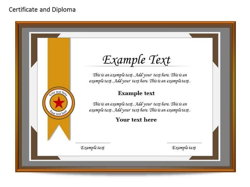 powerpoint voucher template certificate template powerpoint