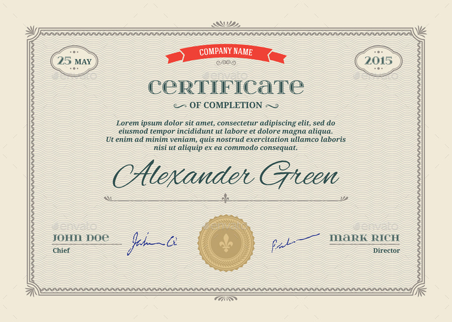18+ PSD Certificate Templates PSD, Free Formats Download