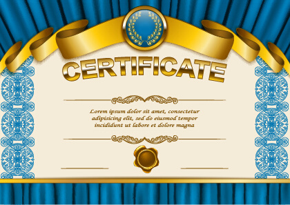 Diploma certificate template free vector download (12,931 Free