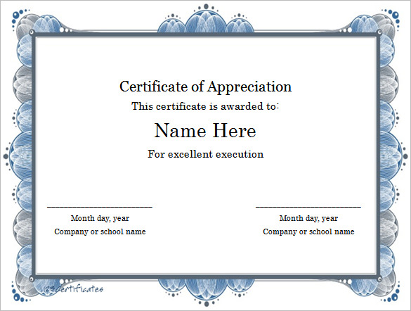 Free certificate templates for Word | download free certificate