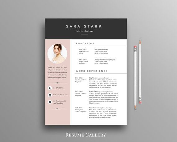 Resume Template On Word. Blank Fill In Resume Templates Best 25+