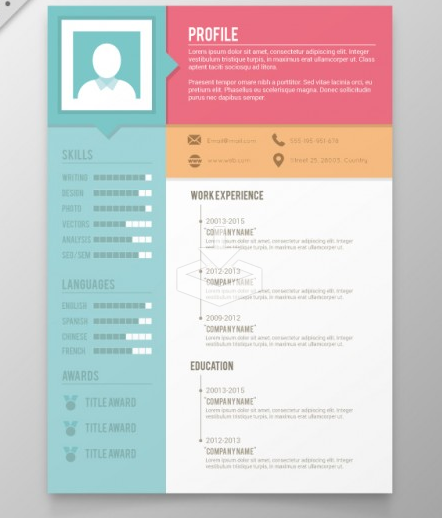 unique resume templates download 35 free creative resume cv