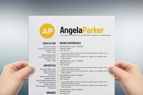 Creative Cv Templates Download Word | http://webdesign14.com/