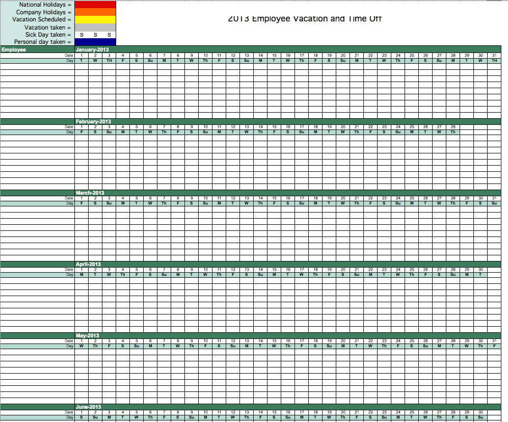 employee training matrix template excel