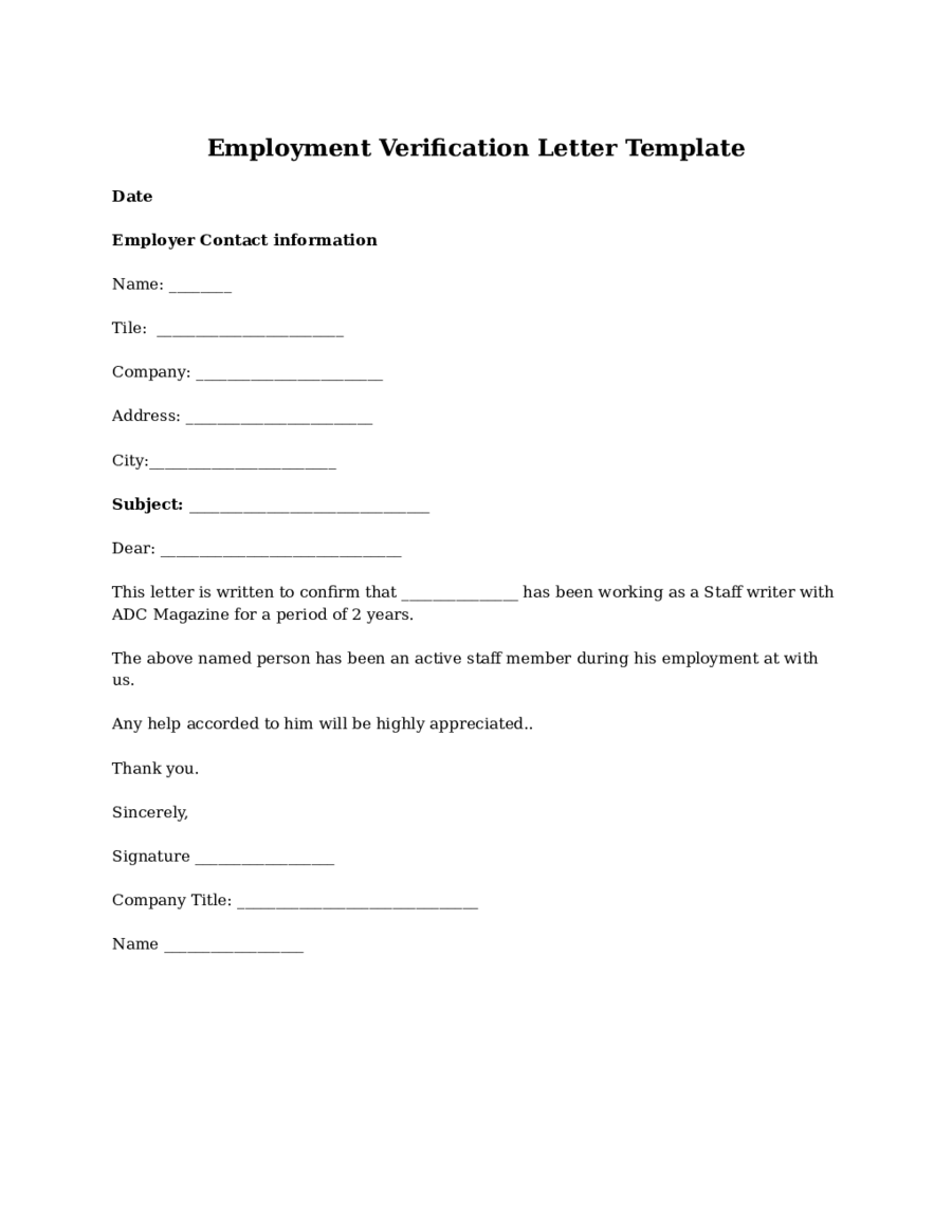 Employment verification letter for visa task list templates proof of employment letter sample employment verification letter spiritdancerdesigns Images