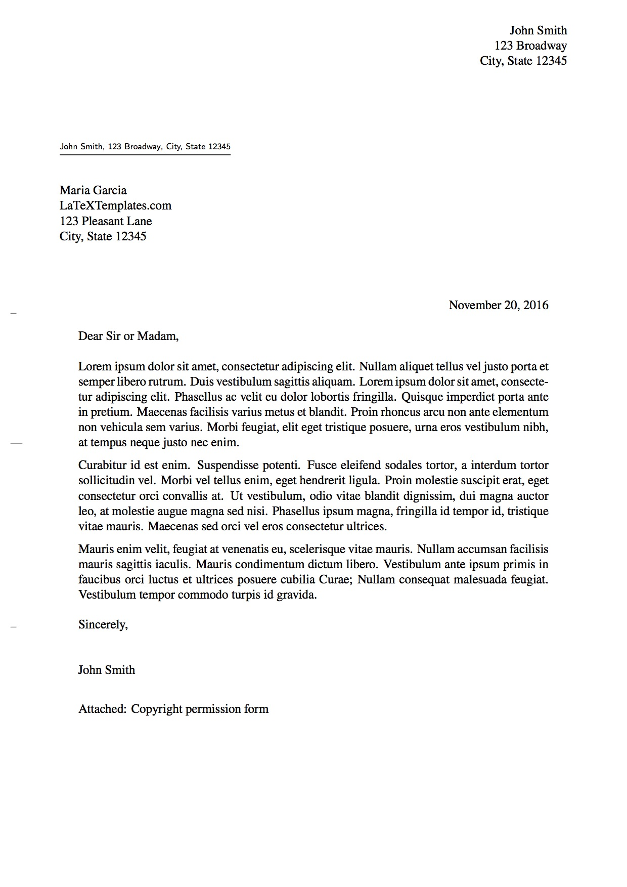 Sample Formal Letter. Sample Formal Resignation Letter For Cover