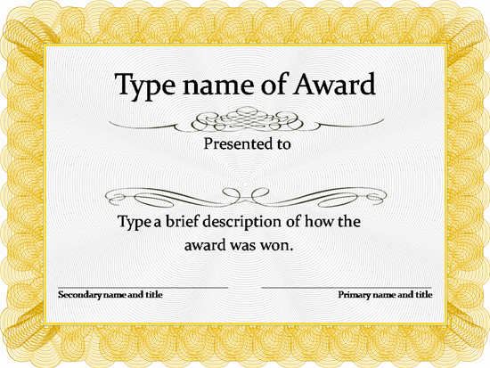 Free Certificate Templates. Simple to Use. Add Printable Badges