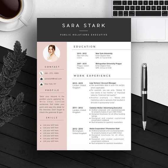 25+ best Creative cv template ideas on Pinterest | Creative cv