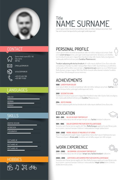 unique resume templates best 20 creative resume templates ideas on