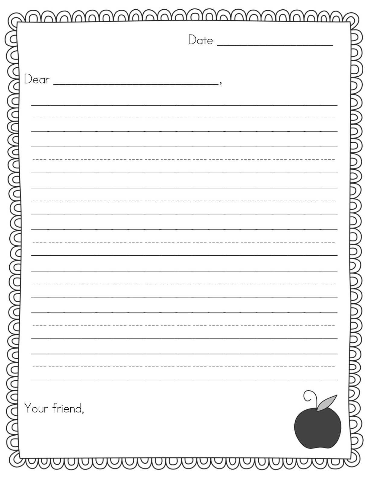 PEN PAL NEWS + FRIENDLY LETTER FREEBIE Teacher Idea Factory