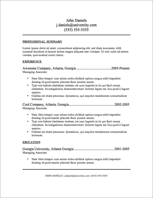 where can i find free resume templates 12 resume templates for