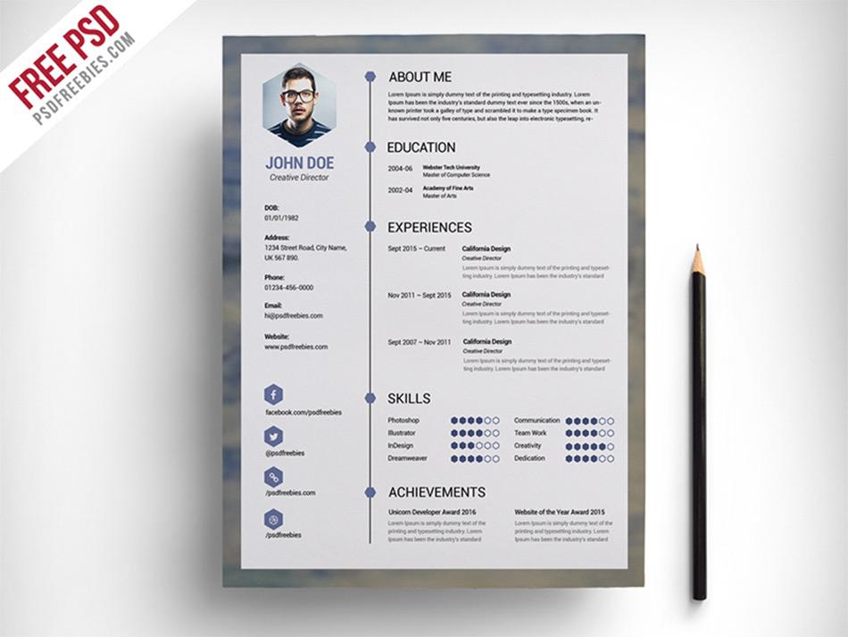 Free stylish resume templates task list templates for Free stylish resume templates