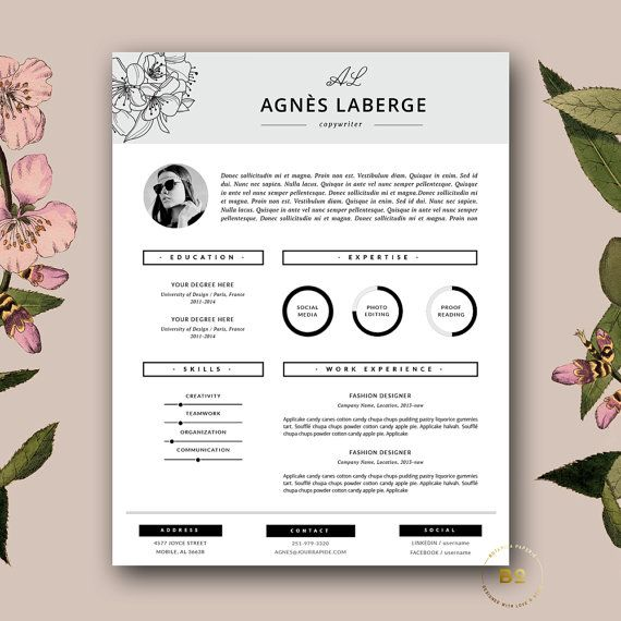 Free Stylish Resume Templates Task List Templates - Free marketing resume templates