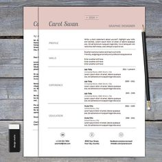 Stylish Resume Templates Free  Contemporary Resume Templates Free