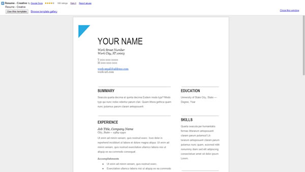 28 Google Doc Cover Letter Template